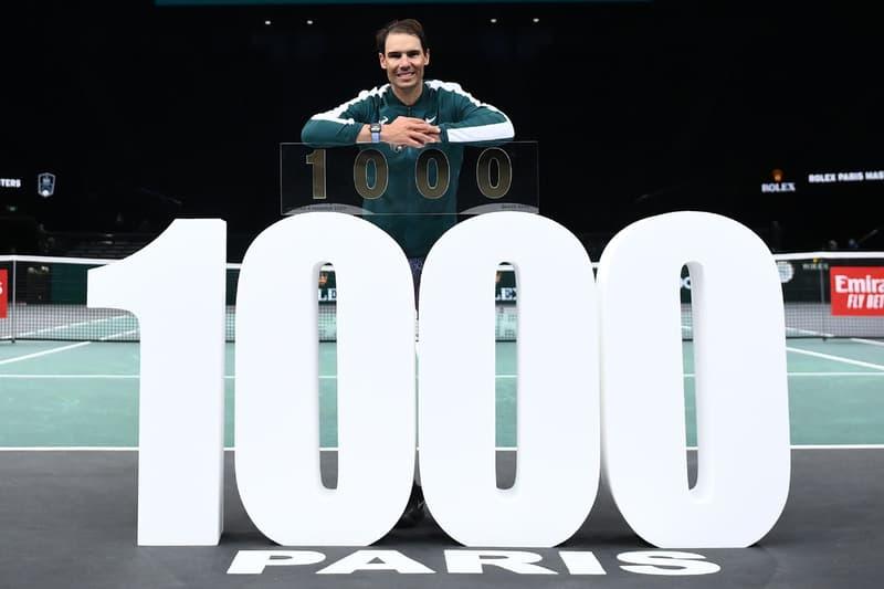 """""""赤土の王者""""ことラファエル・ナダルがツアー通算1,000勝の偉業を達成  Rafael Nadal becomes man with 1,000 match wins"""