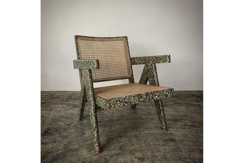 レディメイド READYMADE からリサイクル素材を使用した椅子 EASY CHAIR が発売