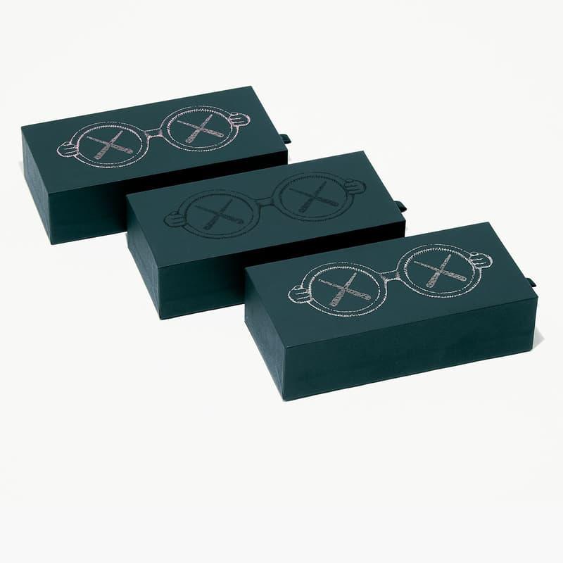 カウズxサン+ドーターのキッズ用サングラスのオフィシャルイメージが到着 KAWS x Sons+Daughters Sunglasses Collaboration
