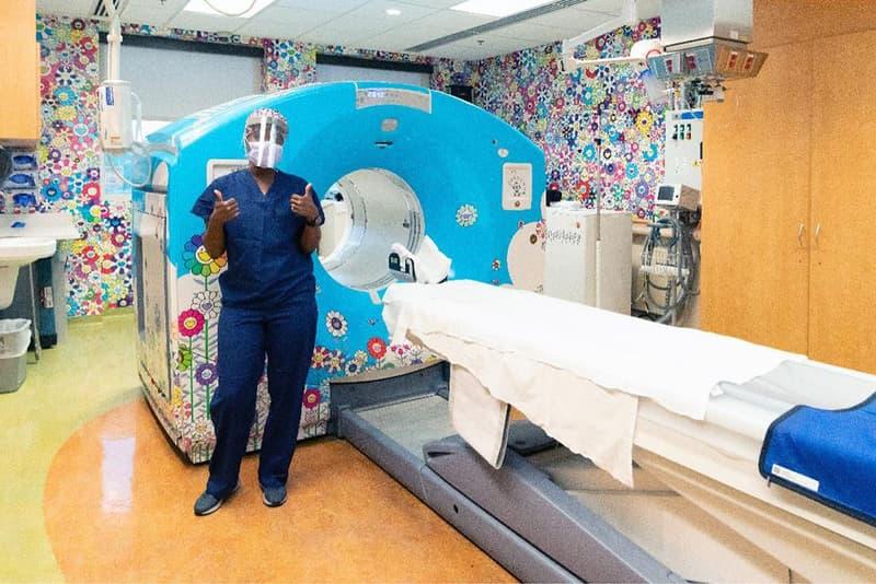 """村上隆の""""お花""""がワシントンD.C.の国立小児病院を彩る Takashi Murakami Designs Room at Children's National Hospital"""