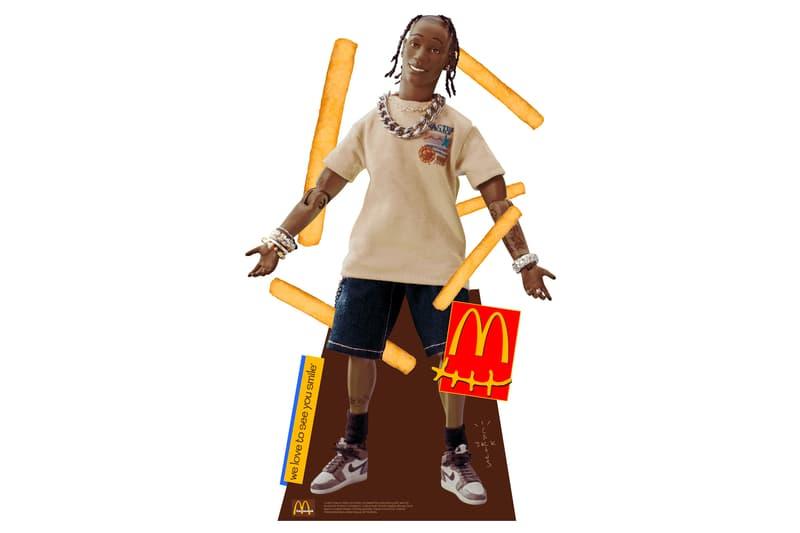 トラヴィス・スコットxマクドナルドのコラボフィギュアが580万円で転売される Travis Scott's McDonald's Action Figure Reselling for $55K USD