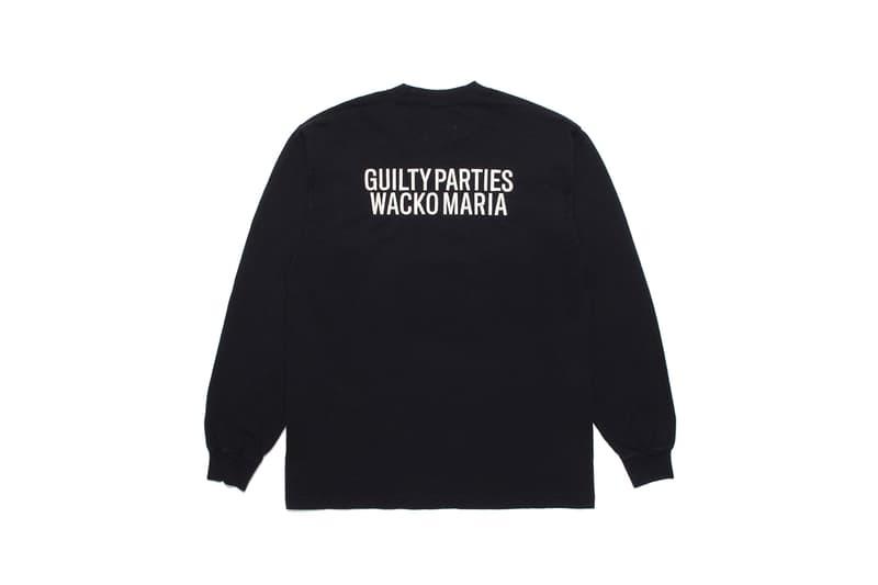 ワコマリアx舐達麻の第2弾コラボコレクションのリリースが決定 Wacko Maria Namedaruma 2nd collab collection release