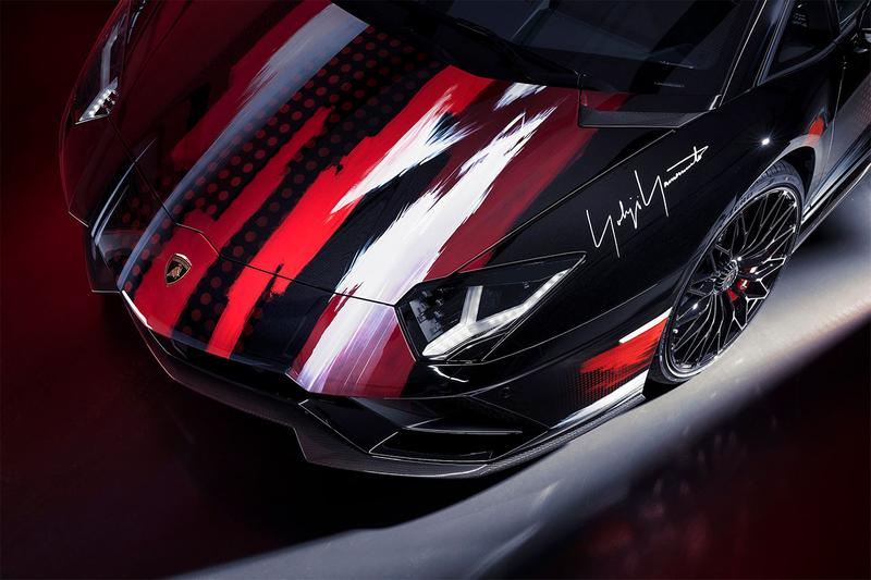 ヨウジヤマモトランボルギーニ Yohji Yamamoto x Lamborghini がコラボ車の発表に伴い3型のアパレルコレクションを発表