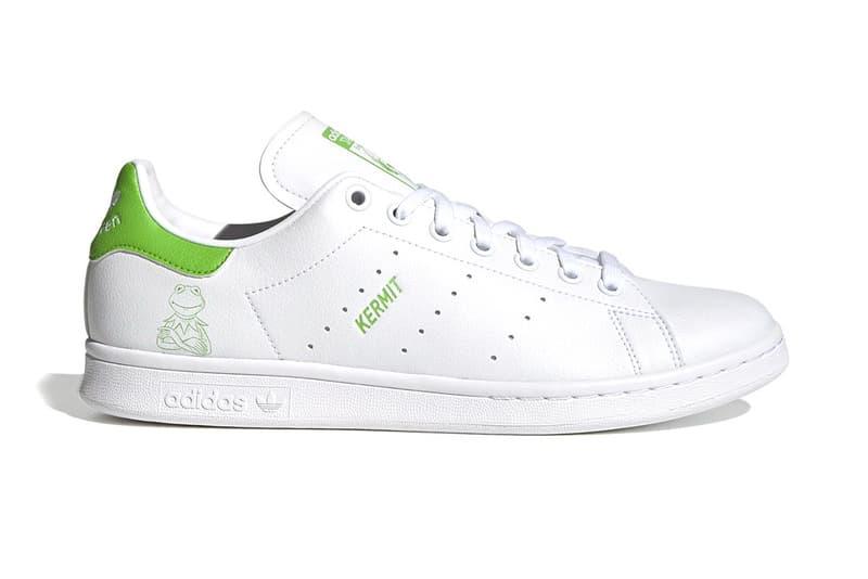 アディダス オリジナルスよりカーミットにフィーチャーしたスタンスミスが登場 adidas originals sesame street stan smith kermit release info