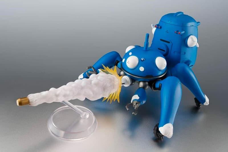 『攻殻機動隊 S.A.C. 2nd GIG』のタチコマがフィギュアとして登場 Bandai Spirits ROBOT Tamashii Attack Shell Mobile Squad Ghost in the Shell S.A.C. 2nd GIG & SAC_2045 Figure release