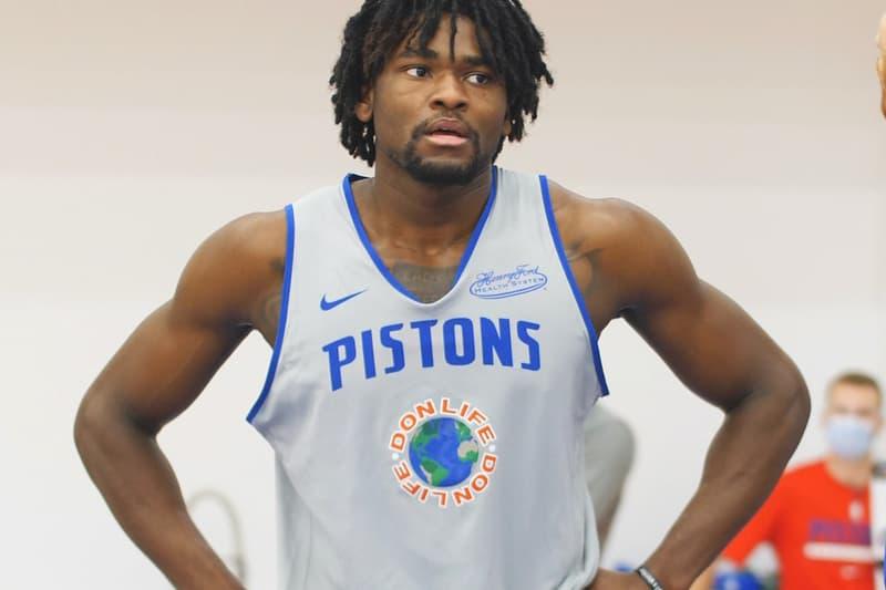 ビッグショーンがNBAピストンズのクリエイティブディレクターに Big Sean Detroit Pistons New Creative Director of Innovation Don Life Announcement Basketball Music NBA