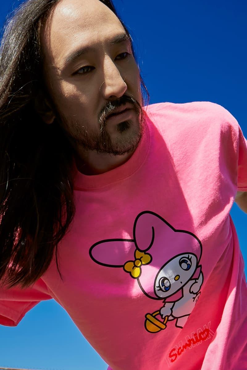 ディム マックがサンリオとのコラボコレクションを発売 Dim Mak Sanrio Collab Release hoodies tees anime style dj steve aoki hello kitty japanese