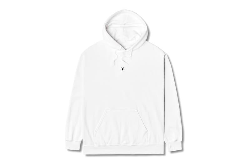フラグメント x プレイボーイのコラボコレクションが登場 fragment design Meets Playboy Labs Collection Release Info Hoodie T shirt Hiroshi Fujiwara Buy Price Black White