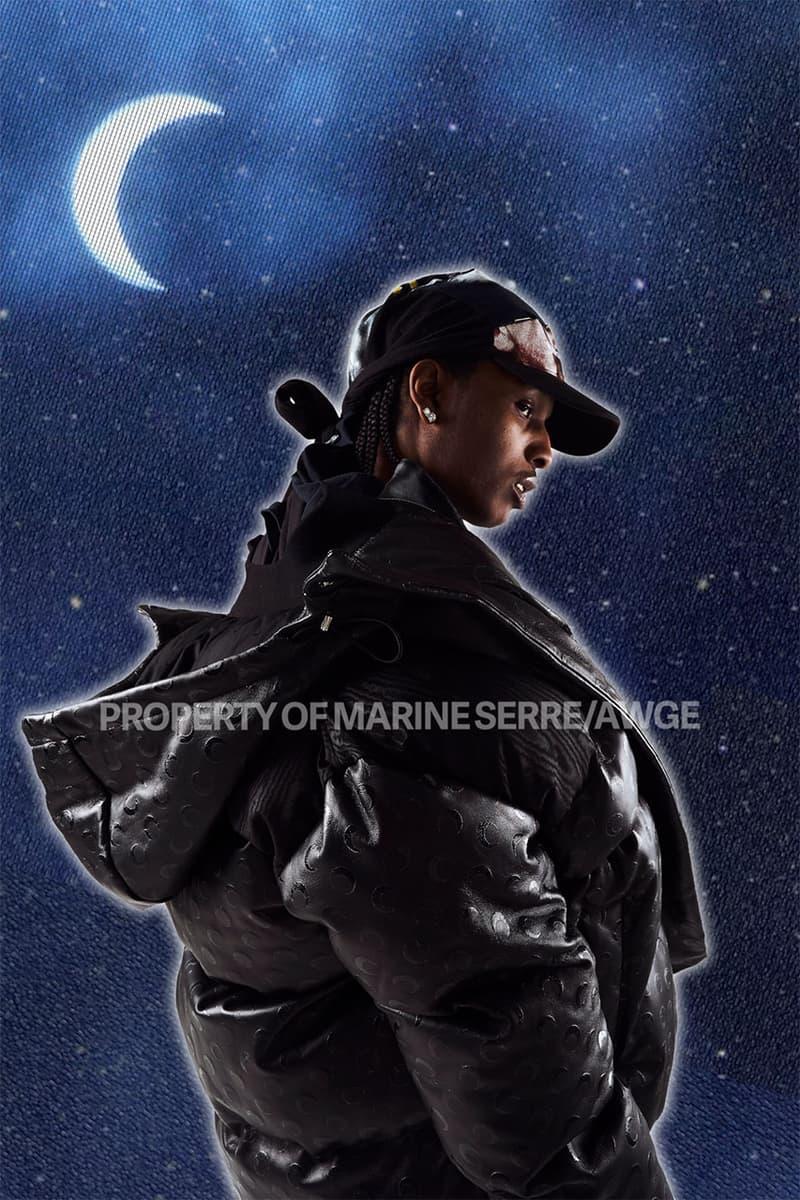 アウグ マリーン セル Marine Serre x AWGE のコラボコレクションがローンチ