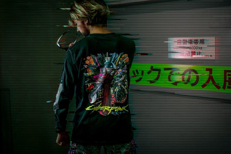 河村康輔と『サイバーパンク2077』によるコラボアイテムが登場 Kosuke Kawamura Cyberpunk 2077 good smile company t-shirts gangsta rap release information acrylic light buy cop purchase