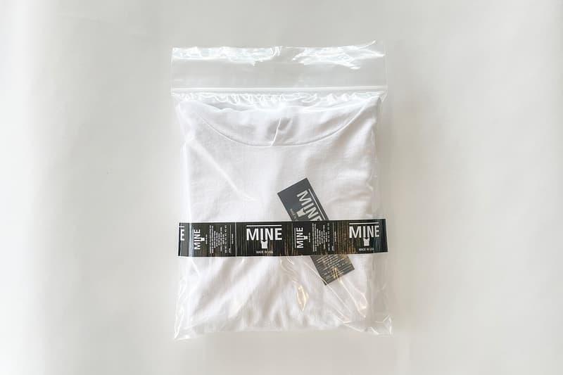 アメリカメイドに拘る白Tブランド マインよりプルオーバーフーディーが登場 Mine white pullover hoodie release info MADE IN USA