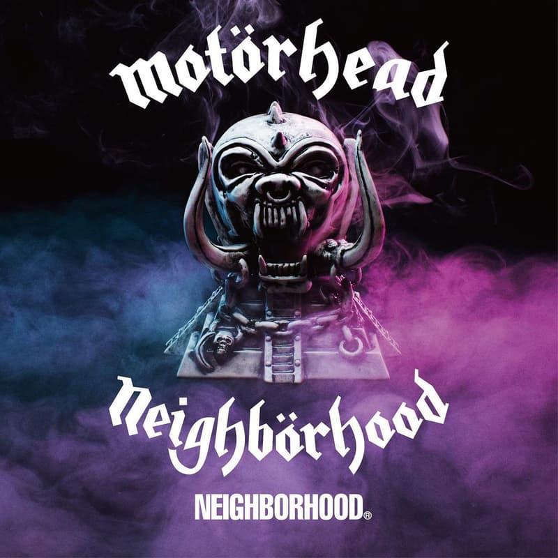 ネイバーフッドがイギリスの伝説的なロックバンド モーターヘッドとのコラボコレクションを発売 Motörhead x NEIGHBORHOOD Collaboration Collection lemmy kilmister release date info buy january 2 2021 colorway hoodie tee shirt incense chamber