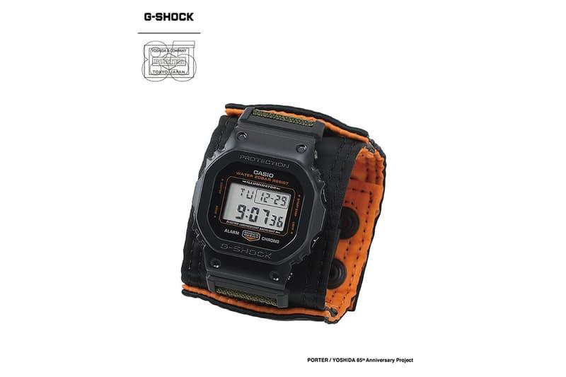 吉田カバン85周年を記念したポーターxジーショックのコラボウォッチがリリース PORTER CASIO G-SHOCK collab watch 5600 release 85th anniversary info