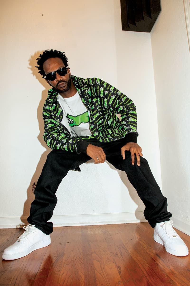 アイスクリーム x サイコワールドの限定コラボコレクションがリリース Psychworld BBC ICECREAM Collection HBX Release Info Varsity Jacket Hoodie Zip Trucker t shirt Jeans Buy Price Mask Rug