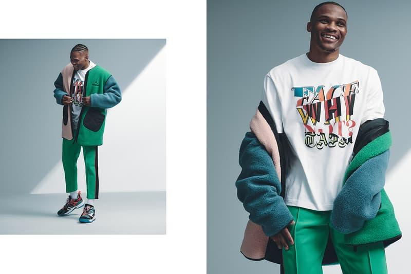 """ファセッタズム x ジョーダン x ウェストブルック ラッセル FACETASM x Jordan Brand による """"Why Not?"""" コレクションがローンチ"""