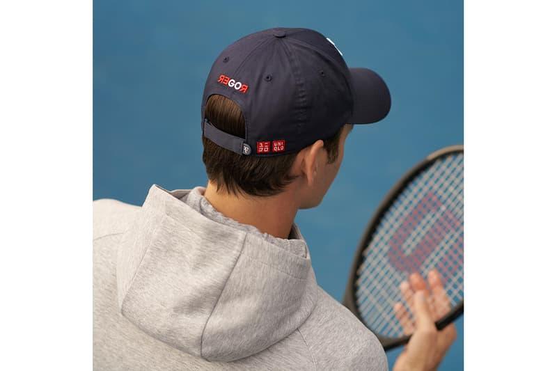 """ユニクロからロジャー・フェデラーの""""RF""""ロゴを使用したキャップが2年越しに登場 Uniqlo Roger Federer RF Logo Cap Release"""