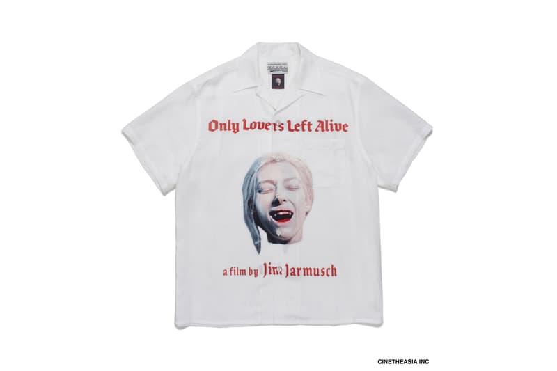 ワコマリアが2021年1発目のコラボレーターに映画監督ジム・ジャームッシュを招聘 Wacko Maria Jim Jarmusch Only Lovers Left Alive collab collection release info