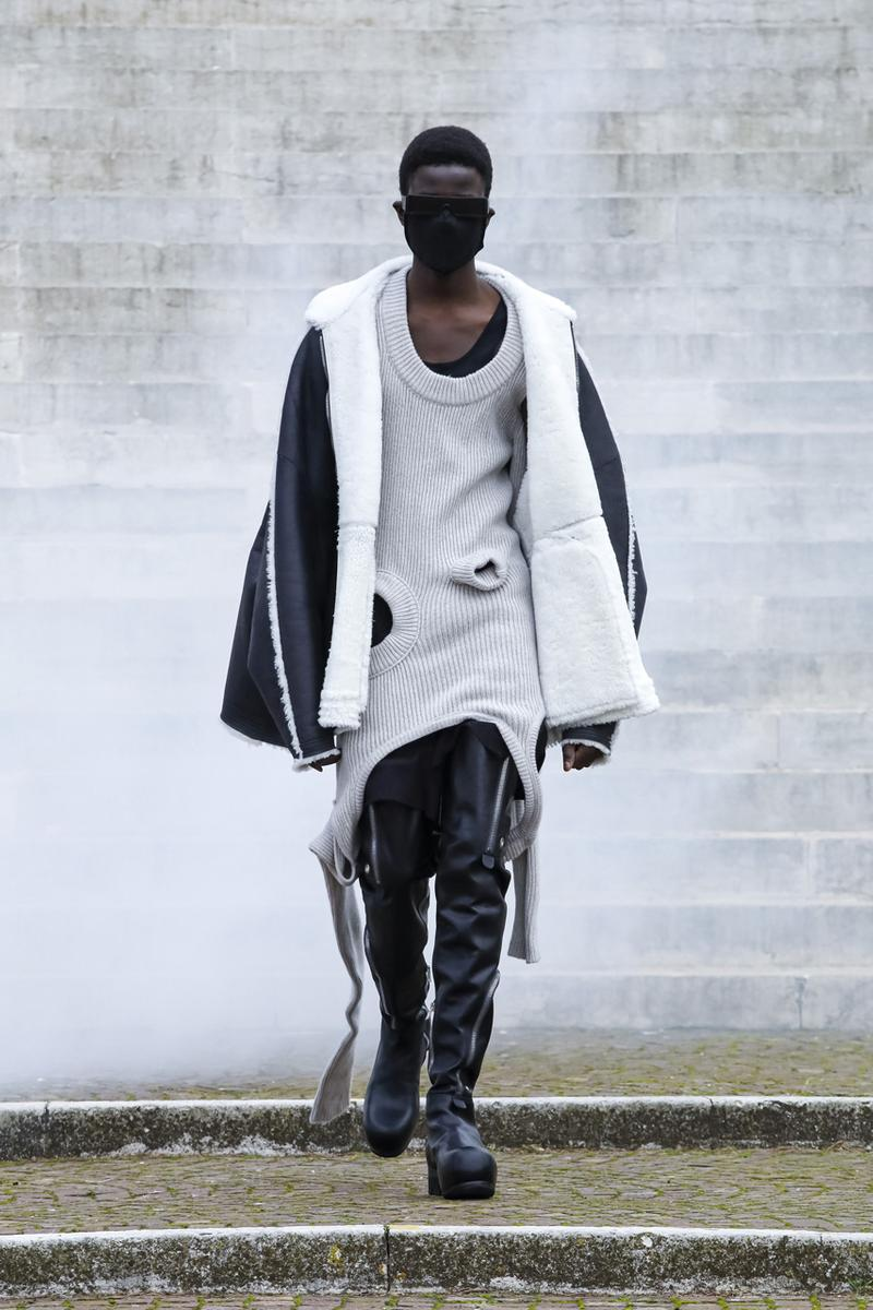 リック・オウエンス2021年秋冬コレクション Rick Owens mens Fall Winter 2021 runway show Collection info