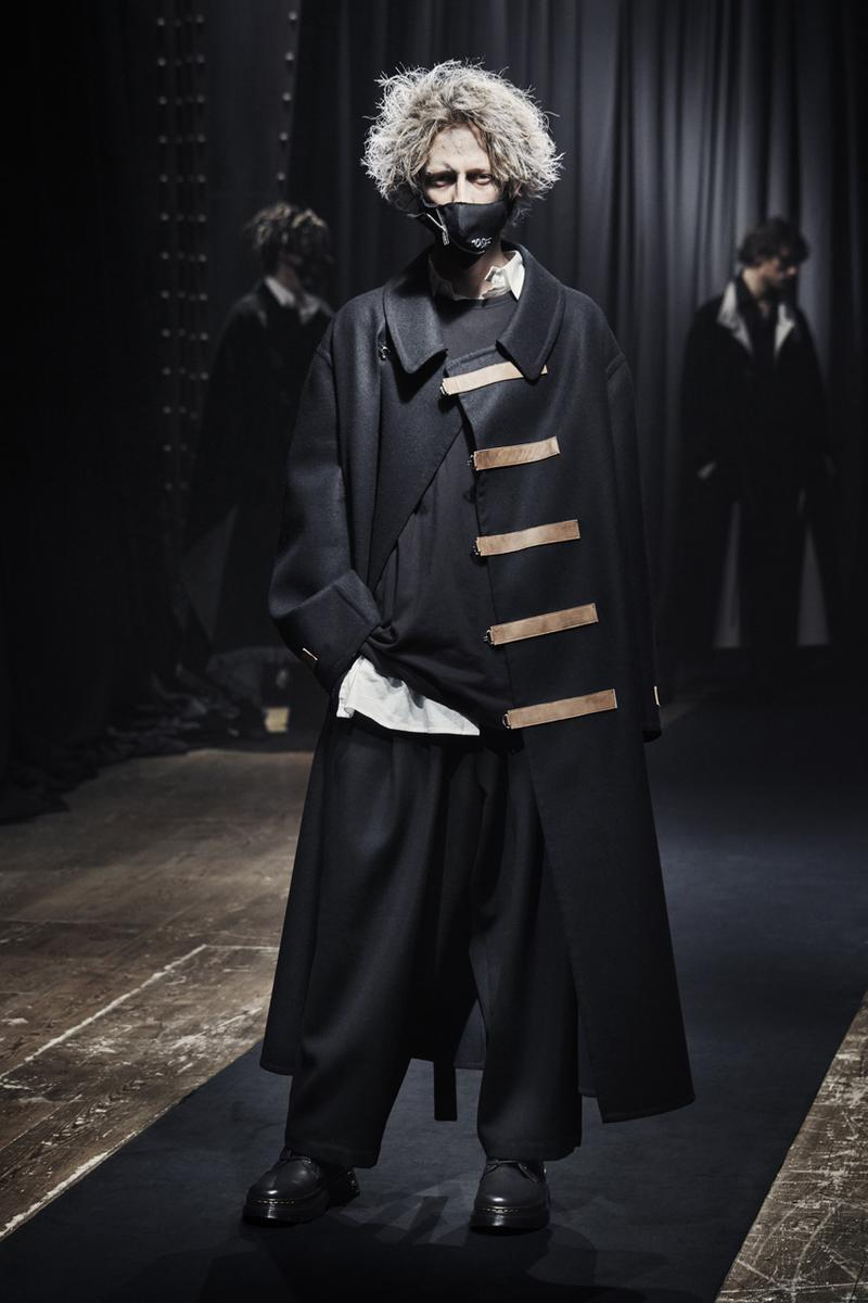 ヨウジヤマモト2021年秋冬コレクション Yohji Yamamoto Pour Homme fall winter 2021 collection paris fashion week mens info