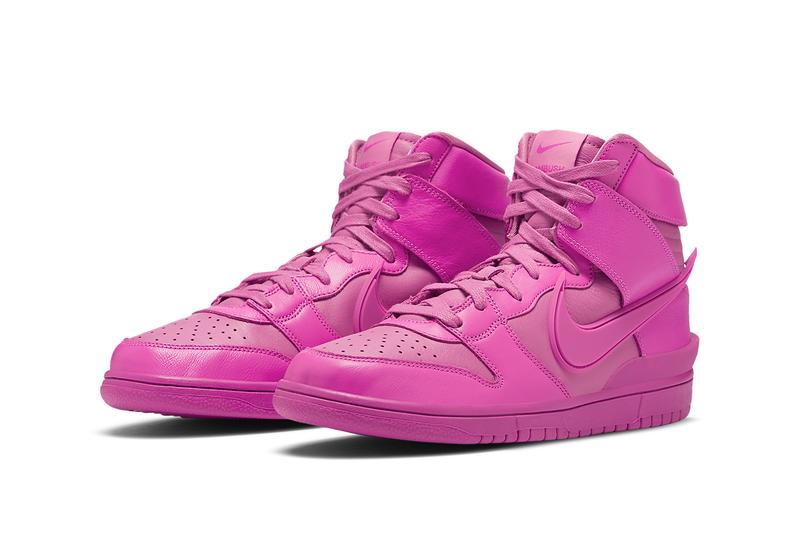 アンブッシュxナイキのダンクに新色が加わる ambush nike dunk high cosmic fuchsia CU7544 600 release info date photos store list price buying guide yoon ahn collaboration