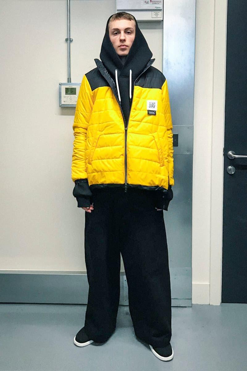 フミトガンリュウ2021年秋冬コレクション Fumito Ganryu 2021 fall winter mens collection lookbook info