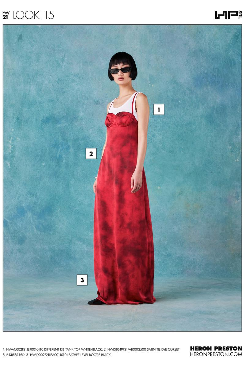 ヘロンプレストン2021年秋冬コレクション Heron Preston Fall/Winter 2021 Collection Lookbook menswear info