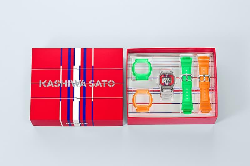 27通りのデザインが楽しめる佐藤可士和 x G-SHOCK の初コラボウォッチ DWE-5600が誕生 Sato Kashiwa casio g shock collab dwe 5600 release info