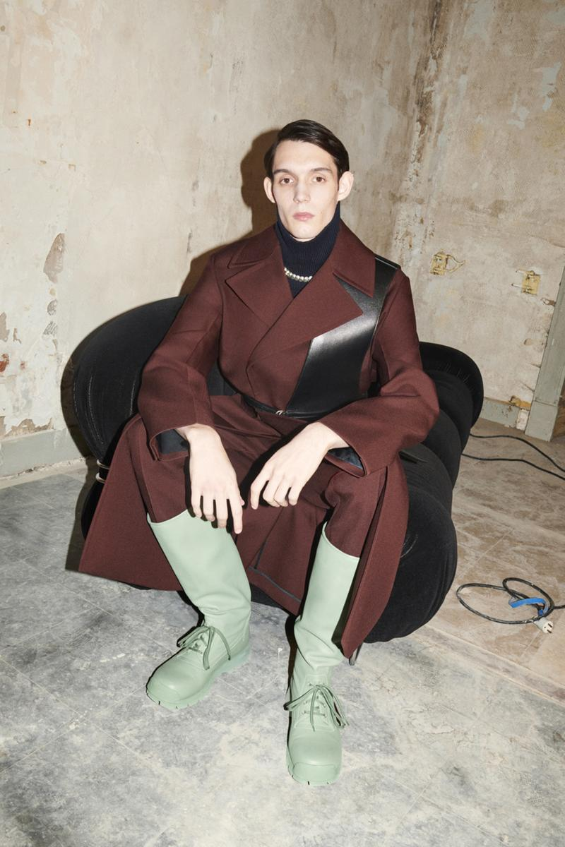 ジルサンダー2021年秋冬コレクション Jil Sander Fall Winter 2021 Collection Lookbook menswear runway show luke lucie meier paris fashion week info
