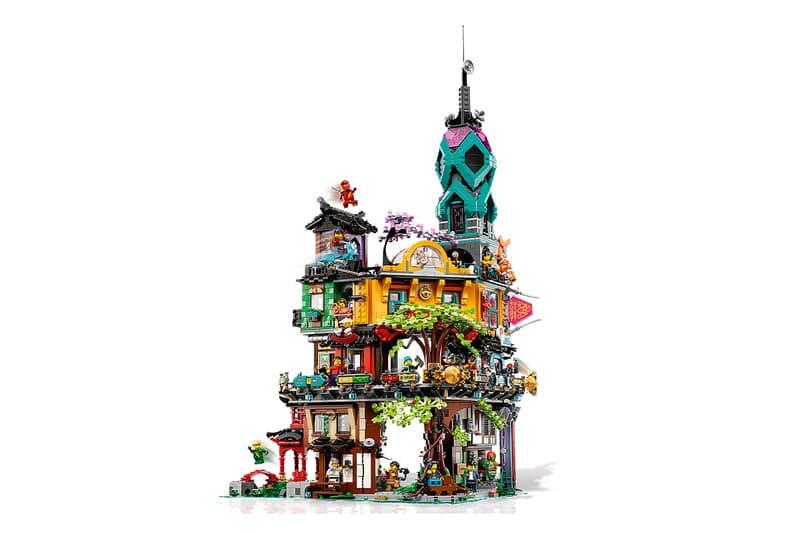"""レゴ®が10周年を迎える""""ニンジャゴー®""""シリーズの世界観を表現したセットを発売 lego ninjago city gardens 10th anniversary release info"""