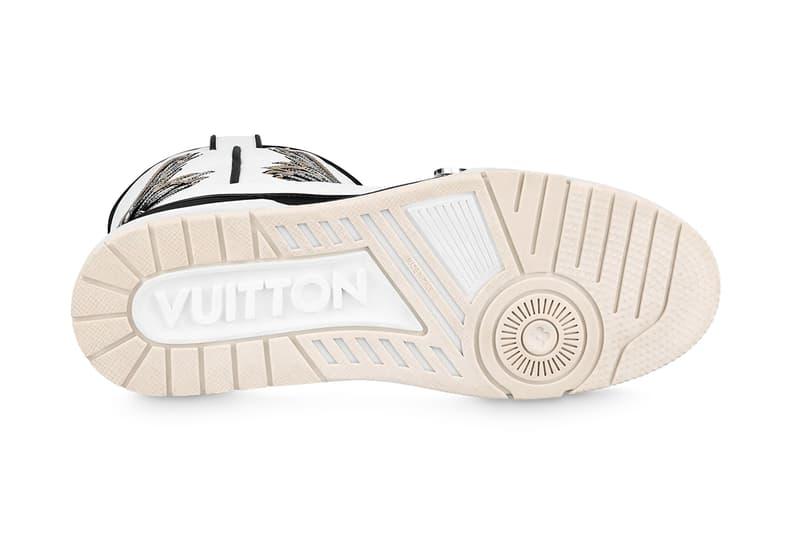 ルイ・ヴィトンよりウエスタンスタイルのLV トレイナーがリリース Louis Vuitton LV Trainer Sneaker Boot Release Info 1A8Q3A Virgil Abloh Buy Price Black White