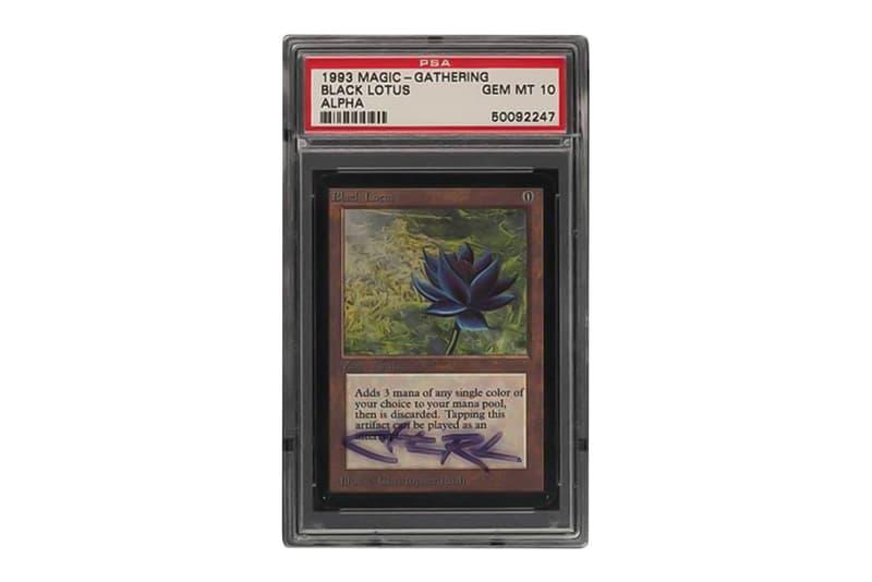 『マジック:ザ・ギャザリング』の初版ブラックロータスに6,000万円超えの入札が相次ぐ eBay Is Looking to Break Records With This Signed PSA 10 Magic: The Gathering Alpha Black Lotus  Chris Rush  TCG Cards auctions cards sales PWCC