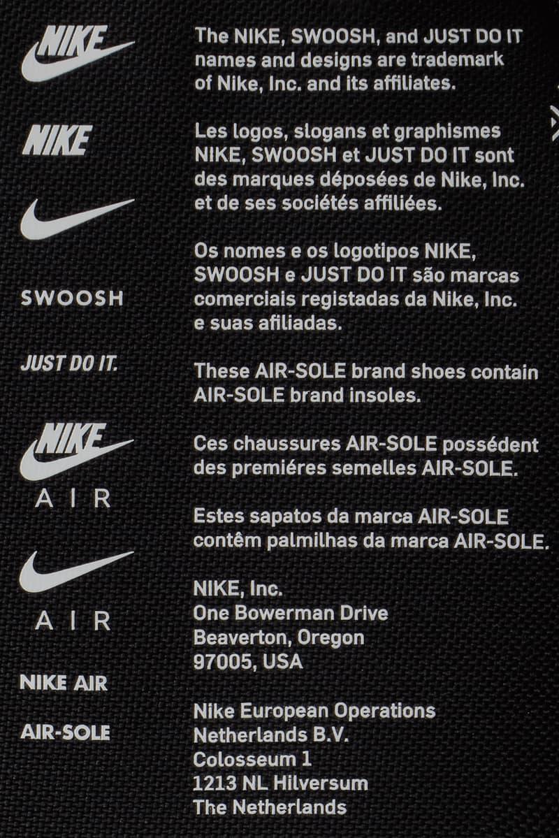 ナイキがエア マックス シリーズのグラフィックをコラージュしたシューボックス型バッグをリリース Nike Sportswear's Latest Shoe Box Bag Features A Collage of Air Motifs