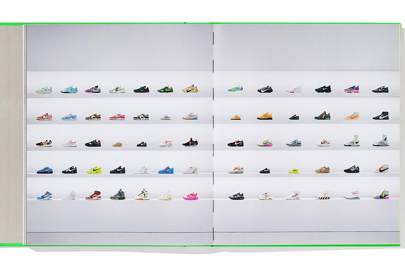 ヴァージルアブローとナイキのコラボを1冊にまとめたICONSが発売 nike virgil abloh taschen icons book release info photos buying guide store list off-white the ten collaboration sneakers
