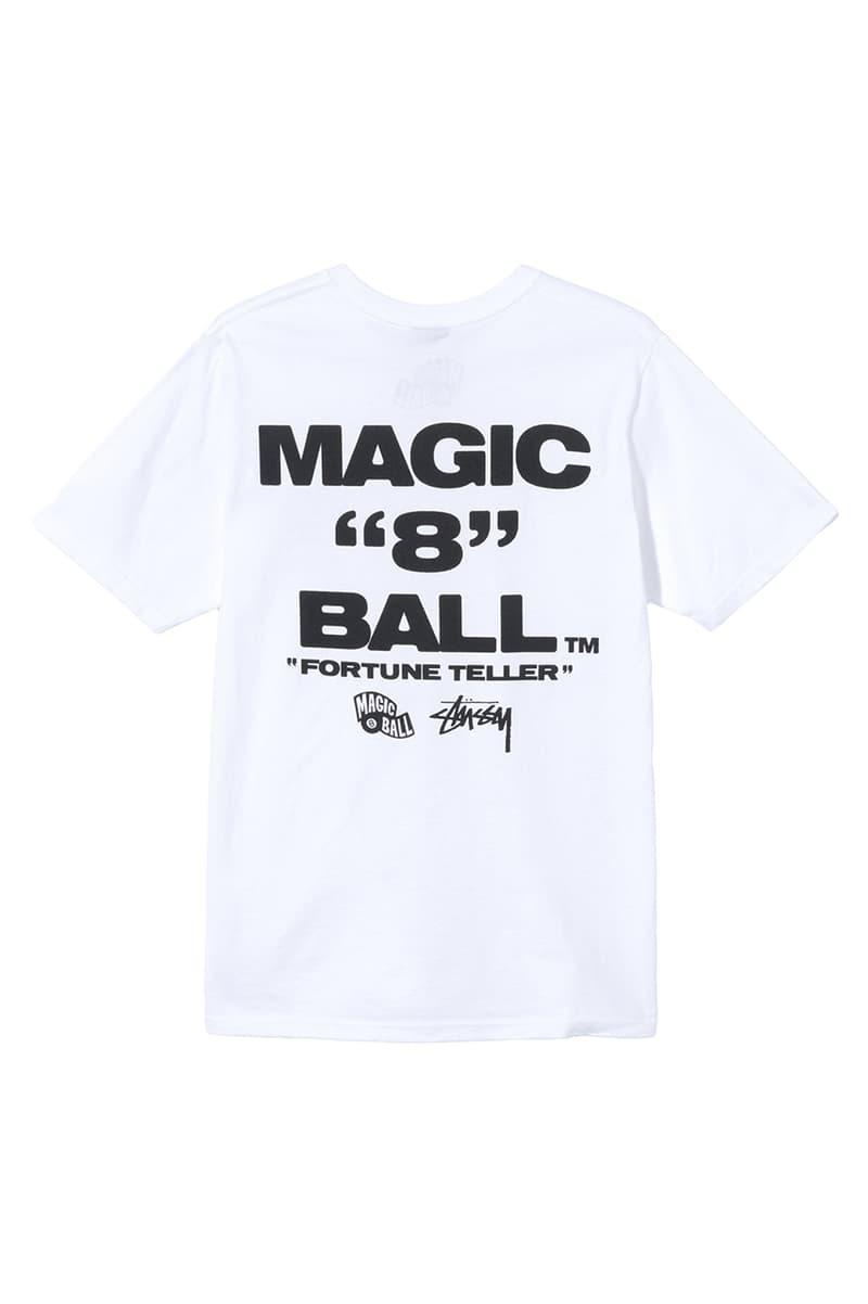 ステューシーから8ボールロゴを模したマジック8ボールが登場 Stüssy x Mattel Creations Magic 8 Ball Toy collaboration figure january 15 release date info buy price