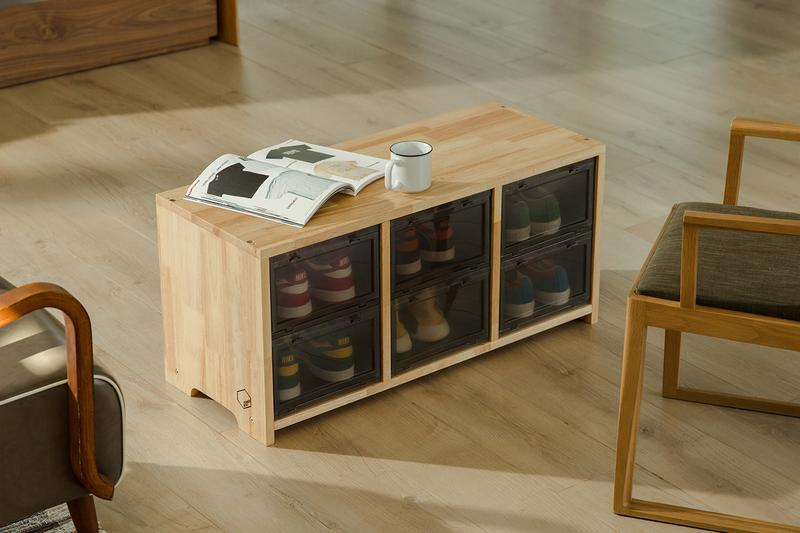 Tower Box Sneakers Wooden Stool Release Furniture Line Buy Price