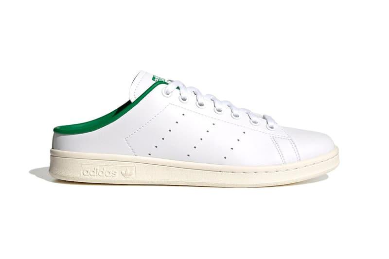 アディダス オリジナルスからOGカラーを纏ったミュールタイプのスタンスミスが登場 adidas Originals Stan Smith Slip-On White Green Off White Release Info FX5849 Buy Price Date Info