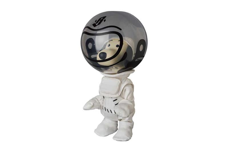 """メディコム・トイxビリオネア・ボーイズ・クラブが""""宇宙飛行士スヌーピー""""のフィギュアを製作 Billionaire Boys Club Medicom Toy VCD Astronaut Snoopy figures toys accessories japanese nasa mascot pharrell williams bbc info"""