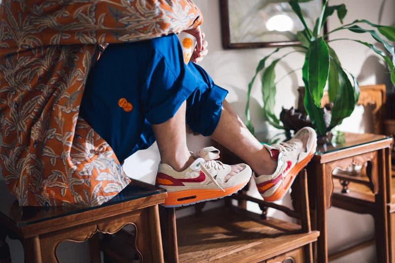 """15年ぶりに復刻を遂げるクロットxナイキ エア マックス 1""""キス オブ デス""""のキャンペーンビジュアルおよび発売情報が解禁 CLOT Nike Air Max 1 Kiss of Death Campaign Launch Release Info dd1870-100 Official Look Buy Price Edison Chen Kevin Poon"""