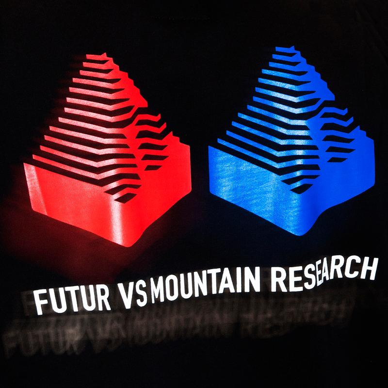 フューチャー マウンテンリサーチ FUTUR x MOUNTAIN RESEARCH の初となるコラボカプセルコレクションがリリース FUTUR vs Mountain Research Collaboration, Pop-Up capsule japan general store event french japan buy release date info