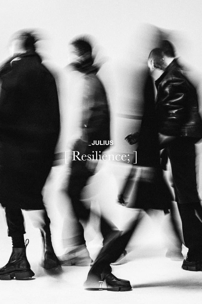 ユリウス2021年秋冬コレクション JULIUS Fall Winter 2021 Collection Lookbook tatsuro horikawa info