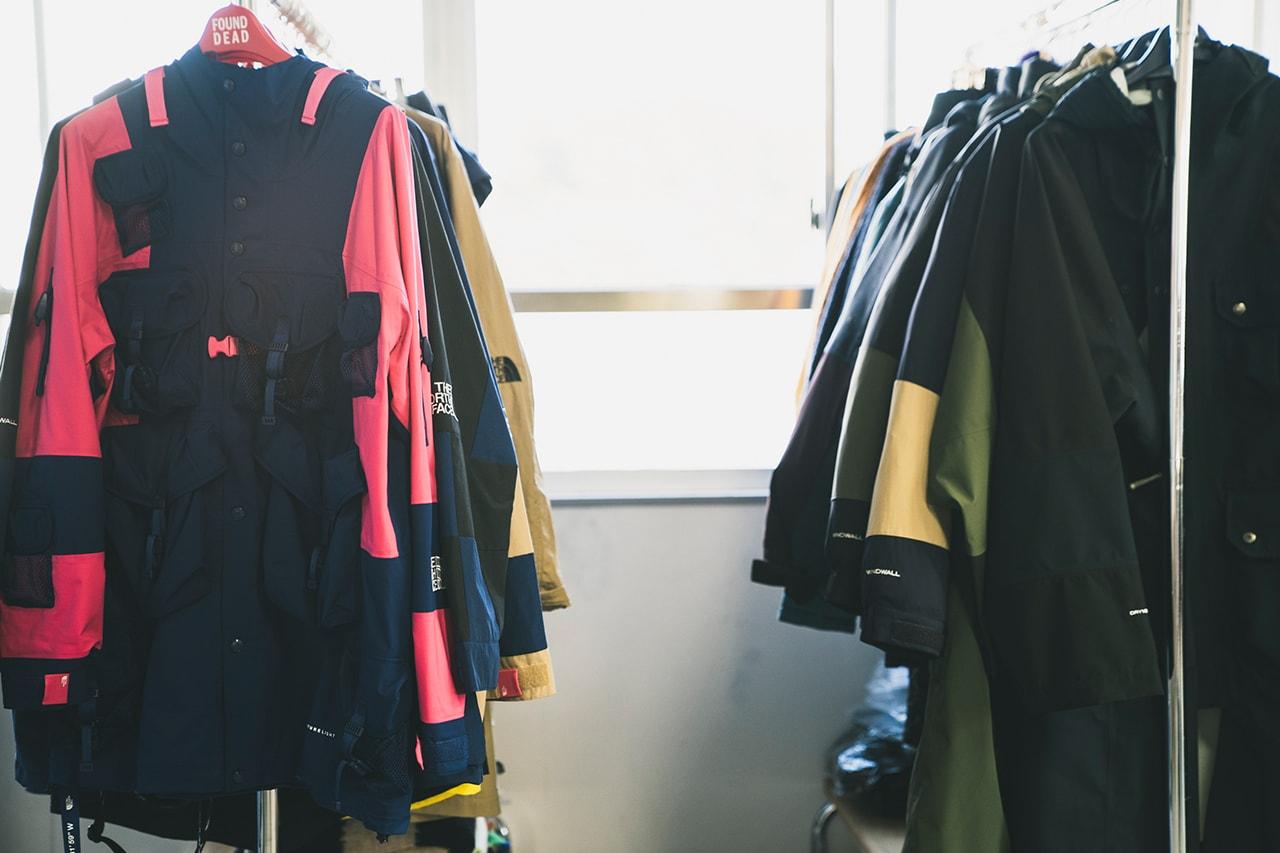 Studio Visits 倉石一樹 ノース・フェイス・アーバン・エクスプロレイション ブラックシリーズ インタビュー THE NORTH FACE Urban Exploration デザイナー Interviews