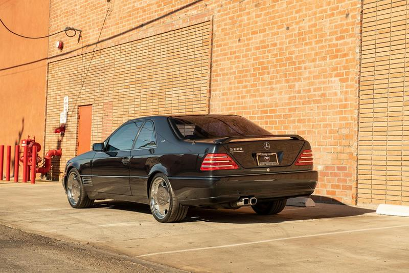 メルセデス・ベンツ  ロリンザー マイケル・ジョーダンの愛車 Mercedes-Benz S600 Lorinser が再びオークションに登場 Michael Jordan 1996 Mercedes-Benz S600 Coupe Lorinser Pre-Owned Bring a Trailer Limited Edition German Super Saloon Car 6-Liter V12 Engine C140