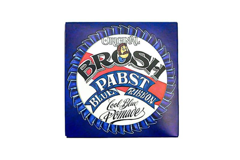 ブロッシュ パブスト ブルー リボン 老舗アメリカンビール Pabst blue Ribbon と男性用ヘアブランド BROSH のコラボプロダクトが発売