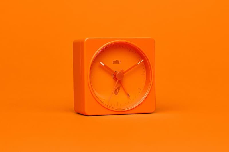 ブラウン オフホワイト 創立100周年を迎える Braun と Off-White™️ によるコラボアラームクロックが発売 Virgil Abloh Signals Ongoing Venture With Braun With Pair of Off-White Alarm Clocks