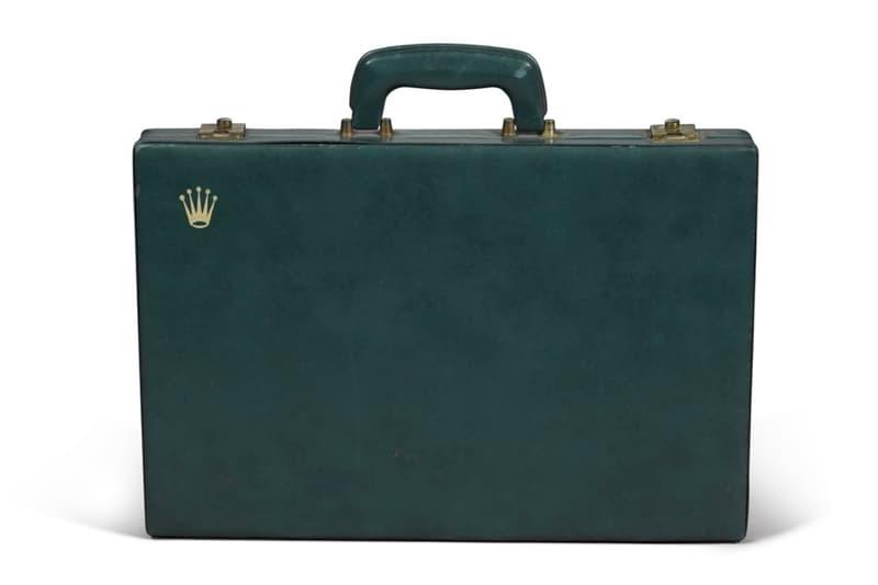ロレックスによる1960年製の『バックギャモン』がオークションに出品 Sotheby's Rolex 1960 leather backgammon set auction sale Sotheby's watches accessories VIP antique collections auctions