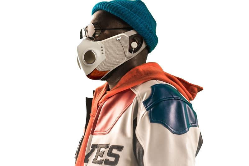 ブラック・アイド・ピーズのウィル・アイ・アムがワイヤレスイヤホンを搭載したハイテクマスク スーパーマスクをプロデュース Will.i.am. and Honeywell Drop $299 USD Face Mask With Built-in Headphones and LED Lights covid-19 fashion tech