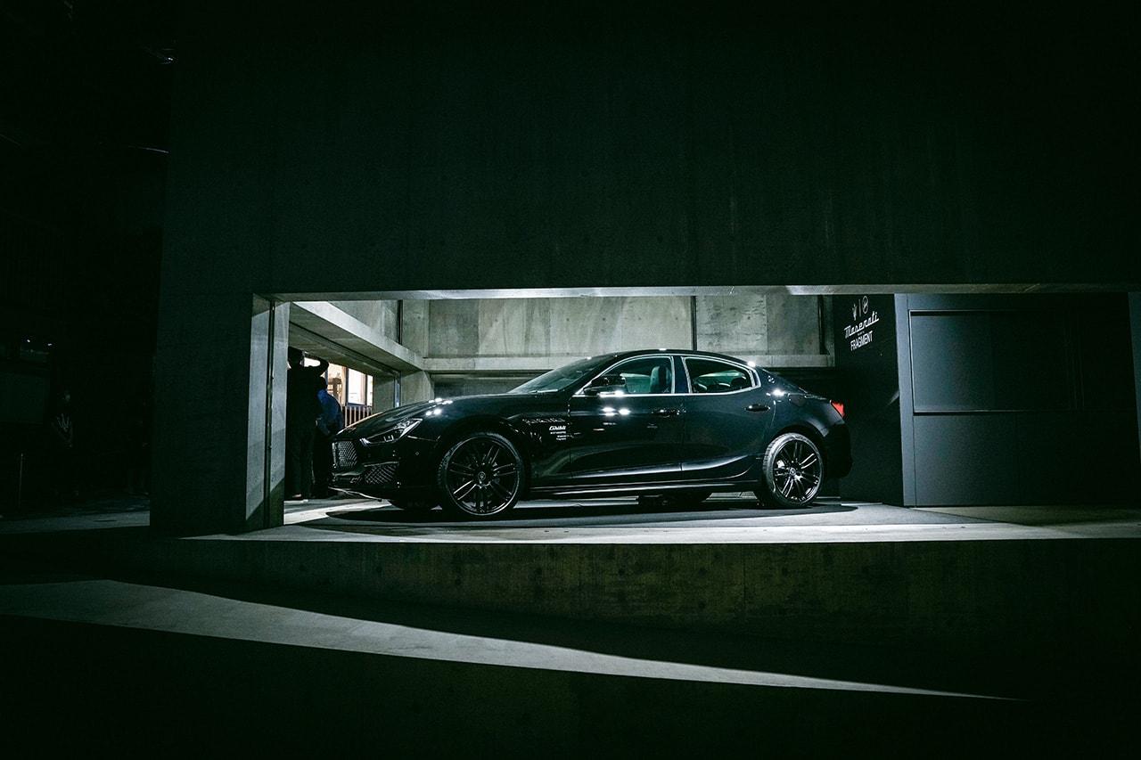 藤原ヒロシ マセラティ が語る Maserati とのコラボレーションについて インタビュー 〈fragment design(フラグメント デザイン)〉