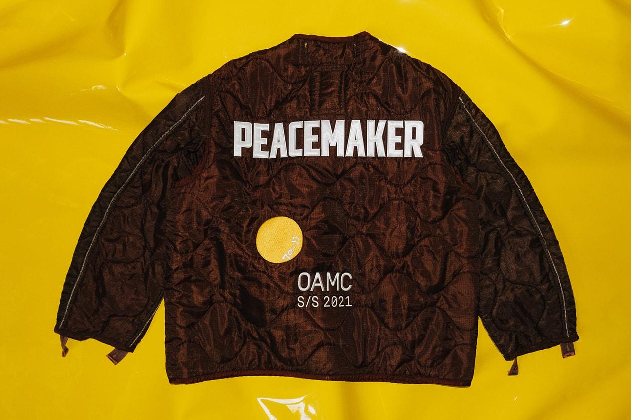 MONCLER HIROSHI FUJIWARA MONCLER GENIUS 7 MONCLER FRAGMENT HIROSHI FUJIWARA TOMOHISA YAMASHITA OAMC LUKE MEIER PEACEMAKER JACKET PEACEMAKER LEVI'S NIGO YOHJI YAMAMOTO Y'S DR. MARTENS HYPEBAE MOON