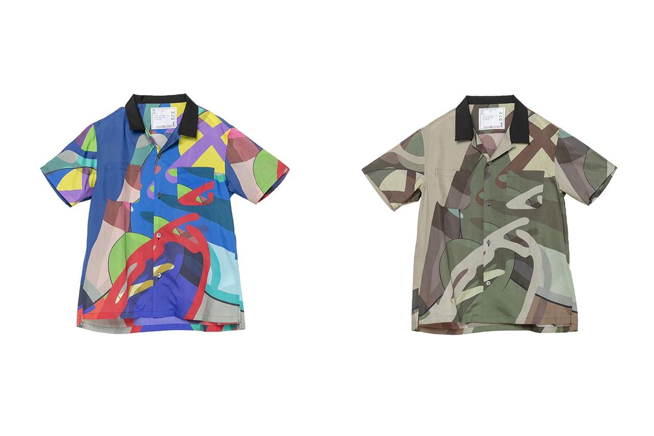 サカイがカウズとのコラボコレクションをリリース kaws sacai wearable art release information chitose abe details nike blazer stockists pop-up