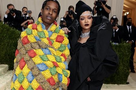 MET Gala で A$AP Rocky の着用していたパッチワークキルトに秘められたエピソードが明らかに